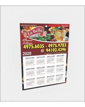 Calendário de Parede 20x27 - 4x0 - 1.000 un.