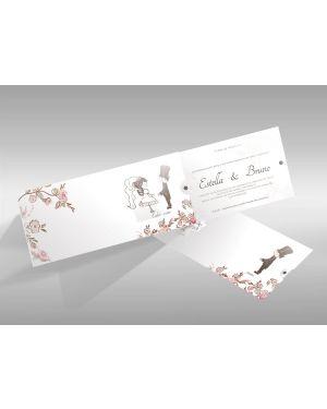Convite de Casamento Especial 02 - 50un.