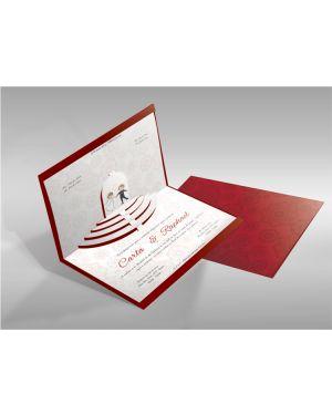 Convite de Casamento Especial 04 - 50un.