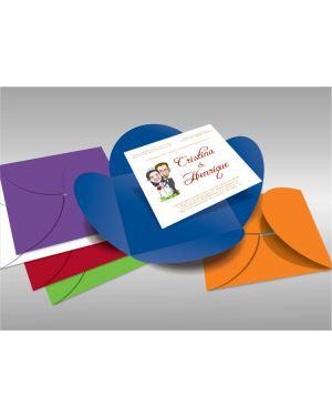 Convite de Casamento Especial 07 - 50 Un.