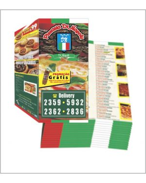 Flyers e Panfletos 20x20 4x4 10.000 un.