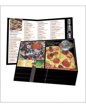Flyers e Panfletos 14x28 4x4 10.000 un.