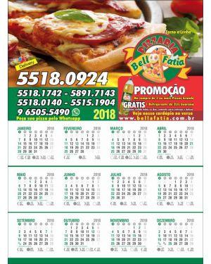 Calendário de Parede 24x35 - 4x0 - 1.000un.