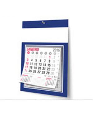 Calendário de Parede c/calendário bloco 12 meses 27x37 -  100 un.