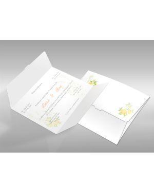 Convite de Casamento Clássico 05 - 50un.