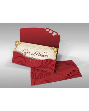 Convite de Casamento Especial 01 - 50un.