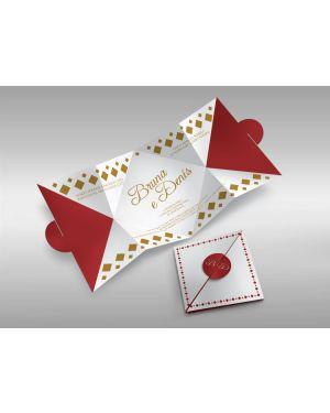 Convite de Casamento Especial 03 - 50un.