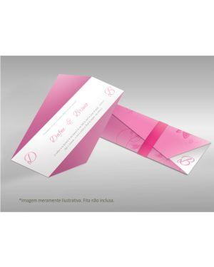 Convite de Casamento Moderno 01 - 100un.